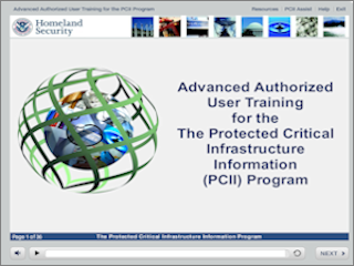 Protected Critical Infrastructure Information